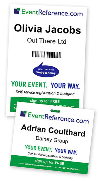 WebBadging, WebScanning, EventReference, Badges, Scanners, Attendance Reporting, reports, attendance, conference, scanning app, app, android app, attended, event, conference